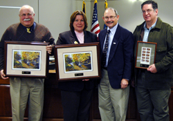 Appalachian receives appreciation award from PA Fish & Boat Commission
